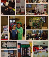 Inter-national Day Success - Thank you 5th grade students, Mrs. Brown, Mrs. Sommer and PTA