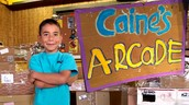 "Caine from ""Caine's Arcade"": A nine year old boy's small cardboard arcade becomes famous worldwide! (Cause+Effect)"