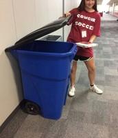 Trash lid