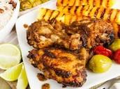 Jamaican meal