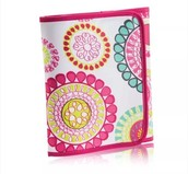 Fold It Up Organizer in Citrus Medallion