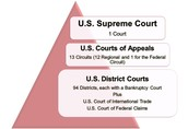 Different levels of Federal Court Systems