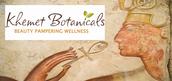 Khemet Botanicals natural & organic bath+body+hair products