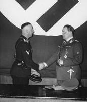 Heinrich Himmler and Herman Göring