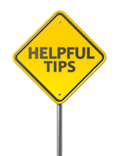 Tips for holding your event