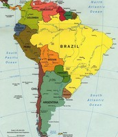 South American Borders