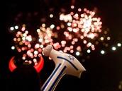 זיקוקים במופעי יום העצמאות