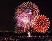Sulfur in Fireworks