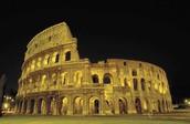History in Rome, Italy