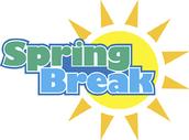*******TRUSSVILLE CITY SCHOOLS*******                                           SPRING BREAK - MARCH 28 - APRIL 1