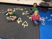 Building Christmas Trees With Keva Planks!