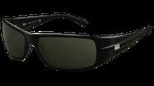 las gafas de sol negro