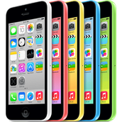 Iphone 5c (with 2 year contract)