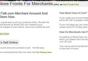 Purchase A MonkyTalk.com Merchant Account And Open Your Own eStore Now.
