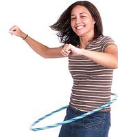 This girl can hula!!!