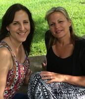 Diana Belmudes and Debra Alguire