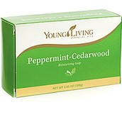 Peppermint Cedarwood Bar Soap