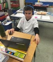 All 1st-5th graders have their own chromebooks