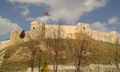 Visiting Gaziantep Castle through our Turkish photos