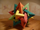 This is an example of hard oragami
