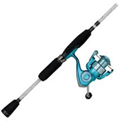 lady trion spinning reel combo