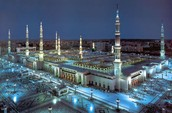 The prophet Mosque