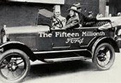 Henry Ford's 15,000,000th car