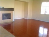 Hard Wood Floors After