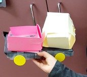 Inventions created using items in classroom