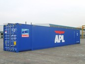 53 foot shipping container