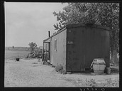 Boxcar Homes for Sugar Beet Workers