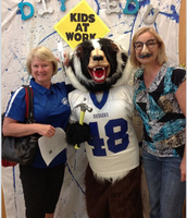Photo Booth Fun at Aug. PD 2014