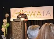 NCESD Sponsors GWATA Award