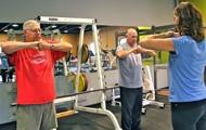 Shoulder flexibility work