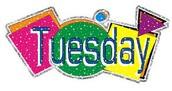 Tuesday Homework  9/9