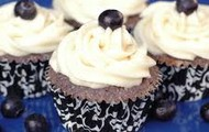 Bluberries Cupcakes
