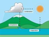 Condensation Evaporation Percipitation