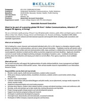 Associate Account Executive