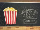Movie Night - Jan. 22nd
