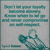 Have self respect