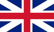 United Kingdom Flag From the 1600's