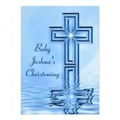 BABY JOSHUA CHRISTIANING
