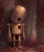 Cuando lo cogía en sus manos para hacer gachas, el pobre robot sabía que no era nadie, dijo el narrador omnisciente