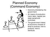 Description of Command Economy