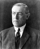 Who was President Woodrow Wilson