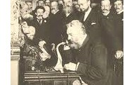 Alexander Using the Telephone