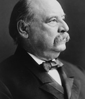 U.S. President Grover S. Cleveland