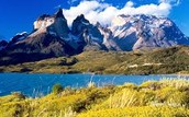 What are some of the major landforms in Argentina?