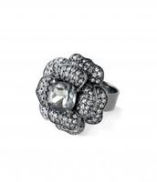 Belle Fleur Ring (Hematite)