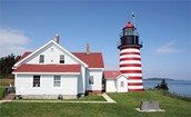 The west quoddy head light house